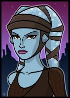 Aayla Secura #3 by Todd-the-fox