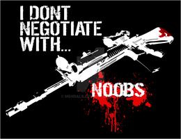 I Dont Negotiate Nubs by Mehdals
