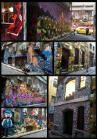 Melbourne Backstreet Graffiti by WinMush
