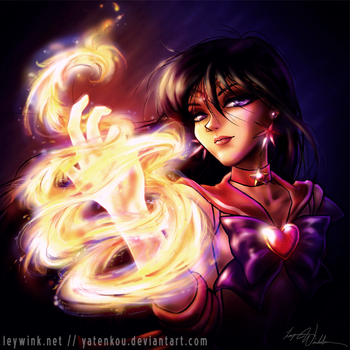 Sailor Mars -Fire Soul- by LeyWink