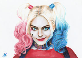 Harley Quinn by IrmaBathory