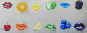 Fruit and Lips by Tahemus