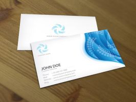 Bluewave business card 2 by Lemongraphic
