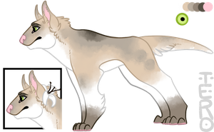 Canine adopt :AUCTION: by Terokytai