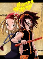Shaman King: Yoh and Anna by Asphil