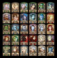 Humanoid 2014 Badges R-Z by Noxychu