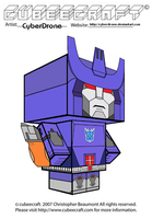 Cubeecraft - Galvatron 'G1' by CyberDrone