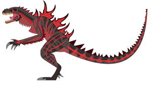 Shin Godzilla (Mokushiroku Version) by EliteRaptor2015