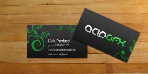 acidGFX business cards by AC-1D