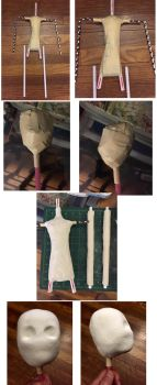 Making My 1st Ball Jointed Doll Part 1 by ajldesign