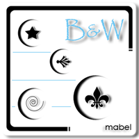 BandW by mAbElylAuRa