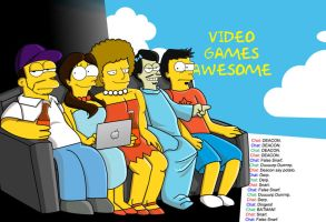 VGA Simpsons Style by StarsGoDimBlue
