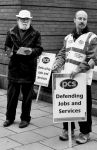 Defending Jobs and Services by daliscar