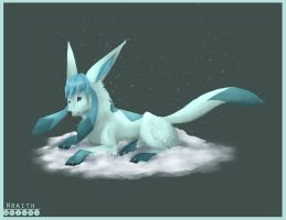 Glaceon by WraithWolves