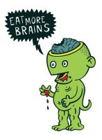 Eat more brains by stingerstyler