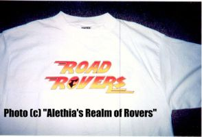 Road Rovers T-Shirt (FRONT) by LonelyWerewolf123