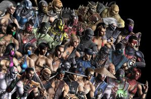 Mortal Kombat by SBlister