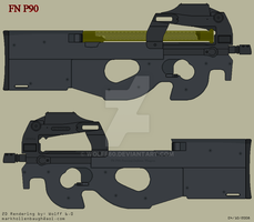 FN P90 by Wolff60