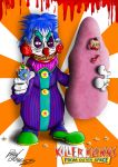 Killer Klowns From Outer Space Fan Art by ChickenShadowHawk