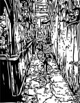 Dogpatch Alley by mankikubo