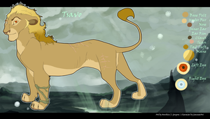Tsavo Ref Sheet for Gravy by Howikin