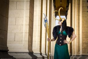 Queen of Asgard by mysteria-violent