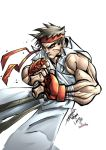 Ryu by Fco. and Largo by bennyfuentes