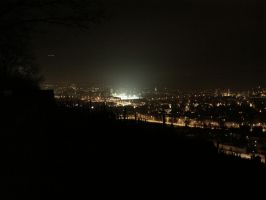 Winterthur by night by schaggo