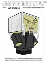 Cubeecraft - Wraith ' Stargate- Atlantis' by CyberDrone
