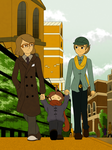 For Him - Professor Layton by CoolFireBird