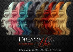 Dreamy HAIR part #1 by Trisste-stocks
