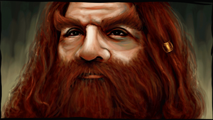 Gimli the elf friend by Patilda