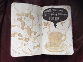 WTJ - Pour, spill, drip, fling your coffee here by xxblackengelxx