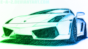 Lamborghini Gallardo Wallpaper (2 In 1) by E-a-2