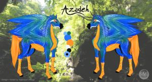 Azadeh - Sheet by Pestdoktor