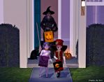 Trick Or Treating by merrygrannyde