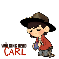 Little ass kickers:Carl Grimes by AninhaT-T