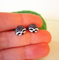 Other Sloth Earrings by FlowerLandBySaraMax