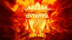 Liverpool logo 3d fire version by kitster29