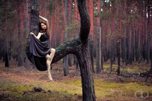 Flexy in the woods by Dapicture