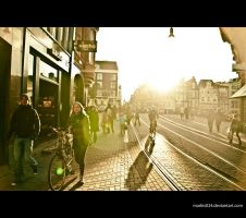 street of Amsterdam by markis024