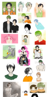 KnB sketchdump by Meteoris