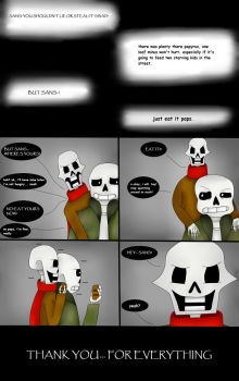 I'll Just Have To Carry You (Undertale Comic) Pg 5 by ImaBanana84