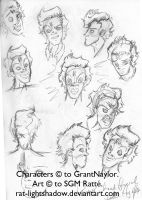 -SCRP- Rimmer Facial Studies by StephRatte