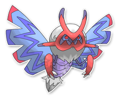 The Moth Fakemon by Neliorra