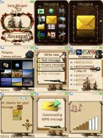 Sony Ericsson Theme Steampunk by ivanraposo