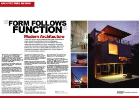 Architectural 2 Pg Spread by StolenStars