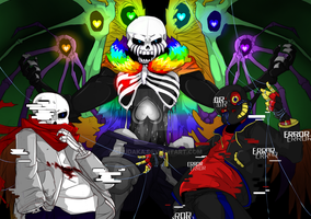 All the Sans'!! by Crossoverdude