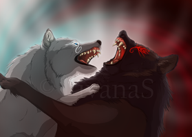 Skoll vs. Hati: My Brother by LivanaS