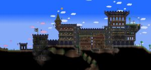 Terraria Castle by Naughty-UK